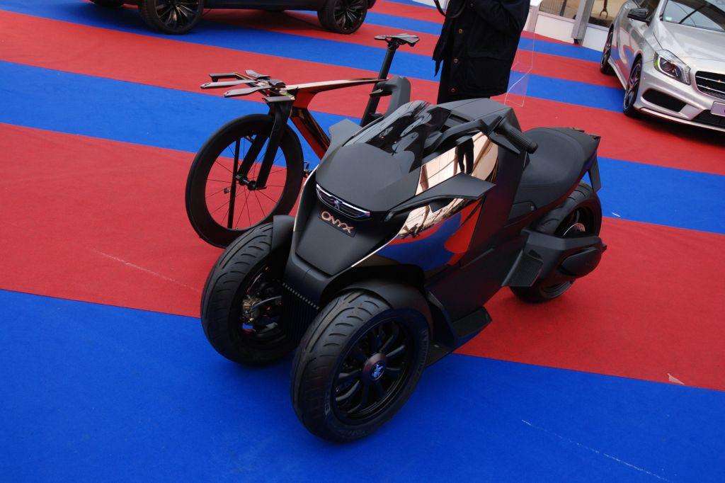 PEUGEOT Onyx Concept - Mondial de l'Automobile 2012.com