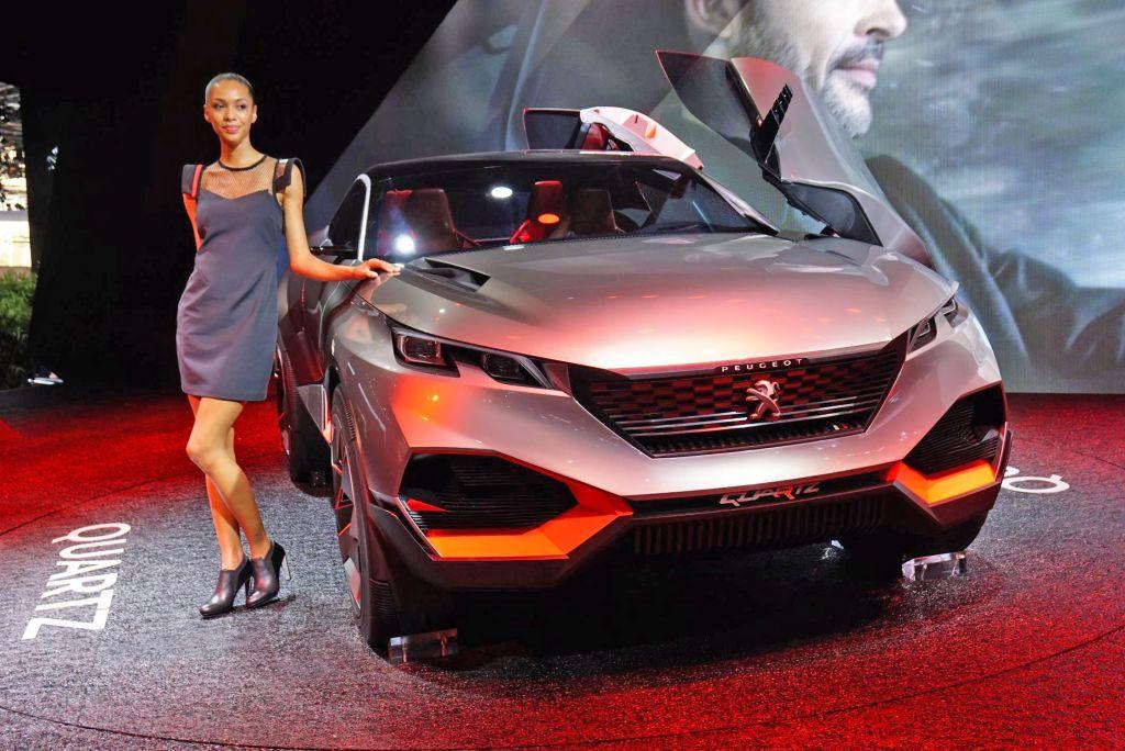 PEUGEOT Quartz - Mondial de l'Automobile 2014.com