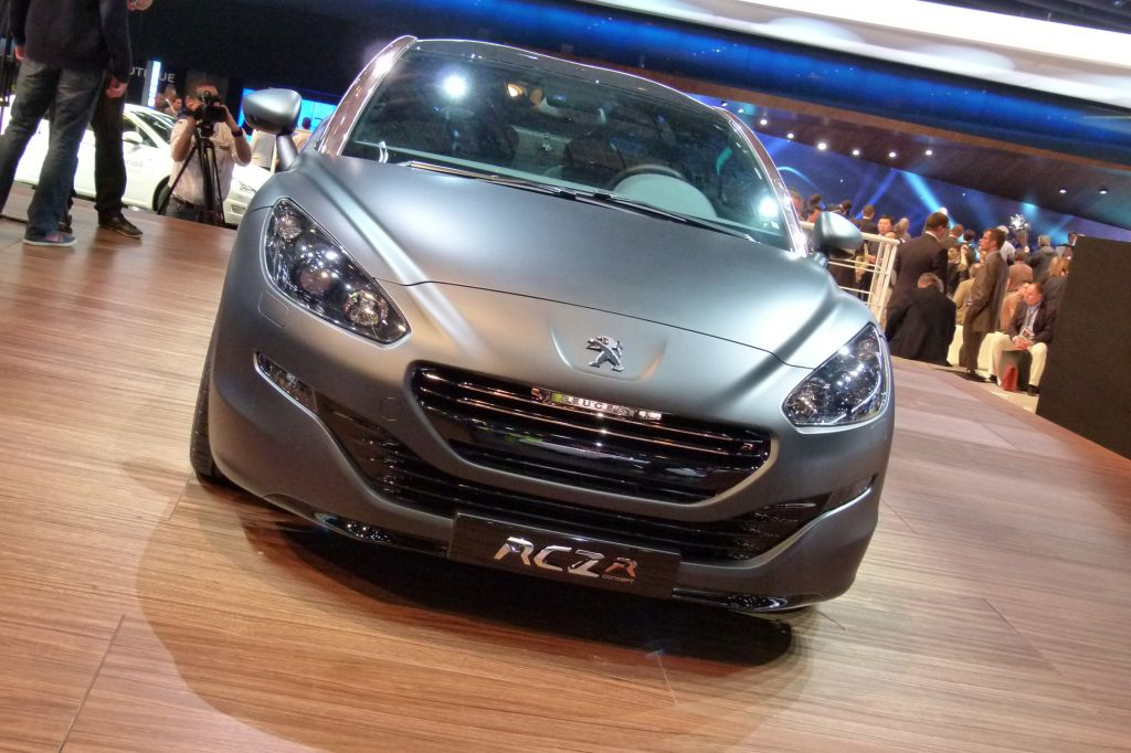 PEUGEOT RCZ-R - Mondial de l'Automobile 2012.com