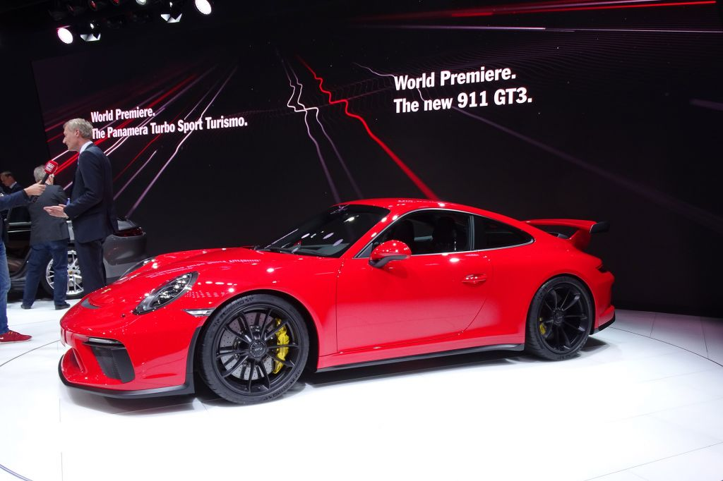 PORSCHE 911 GT3 - Salon de Genève 2017.com