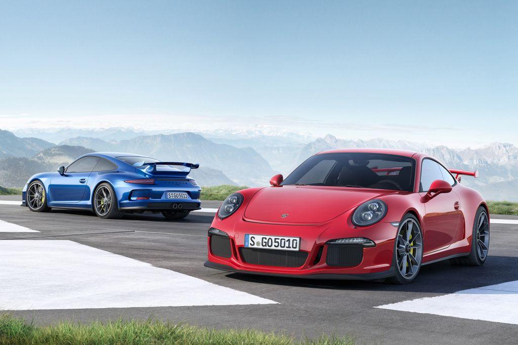 PORSCHE 911 (991) GT3 - Salon de Genève 2013.com