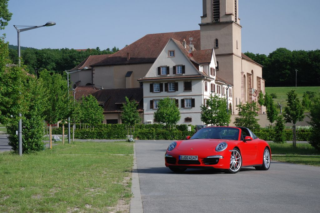 Essai PORSCHE 911 (991) Targa 4S
