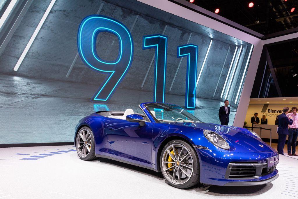PORSCHE 911 (992) cabriolet - Salon de Genève - GIMS 2019.com