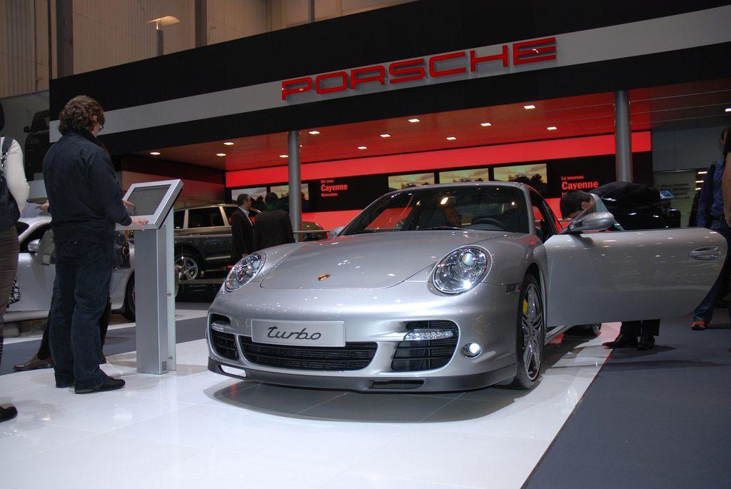 Essai PORSCHE 911 (997) Turbo