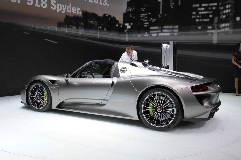 PORSCHE 918 Spyder - Salon de Francfort 2013.com