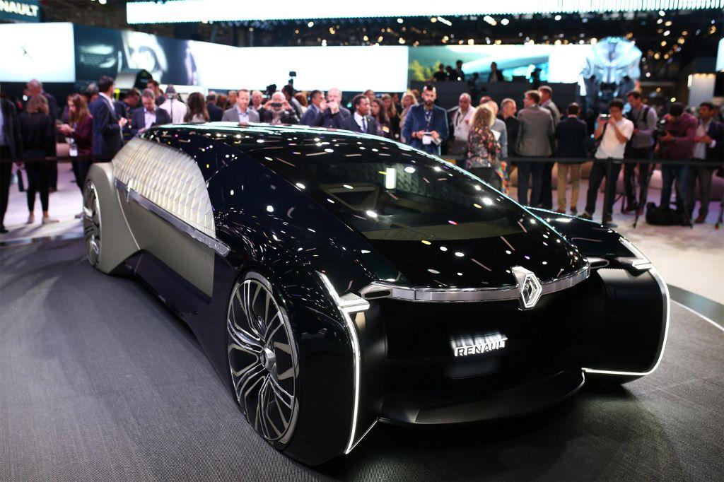 RENAULT EZ-Ultimo - Mondial de l'Automobile 2018.com