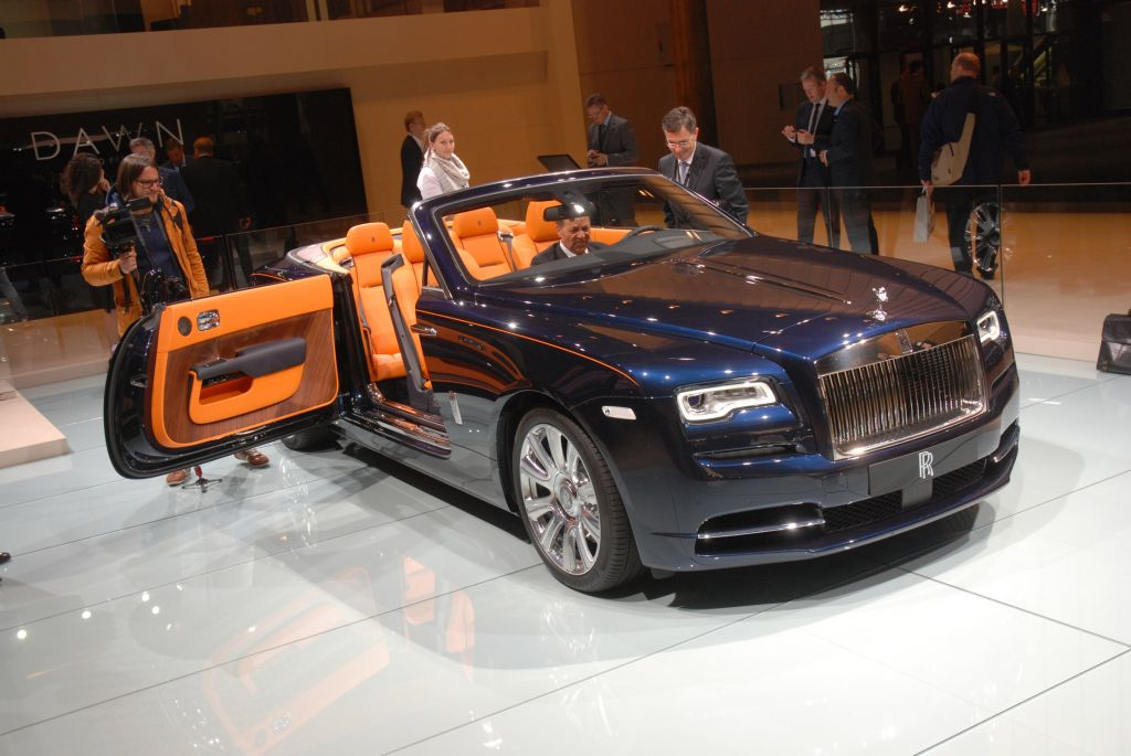 ROLLS-ROYCE Dawn - Salon de Francfort 2015.com