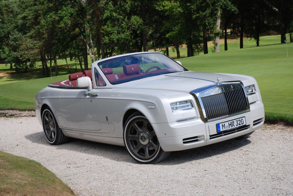 Essai ROLLS-ROYCE Phantom Drophead Coupé