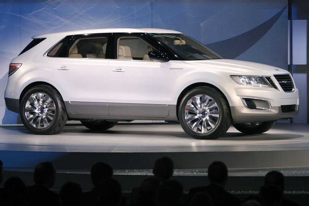 SAAB 9-4X Concept - Salon de Detroit 2008.com