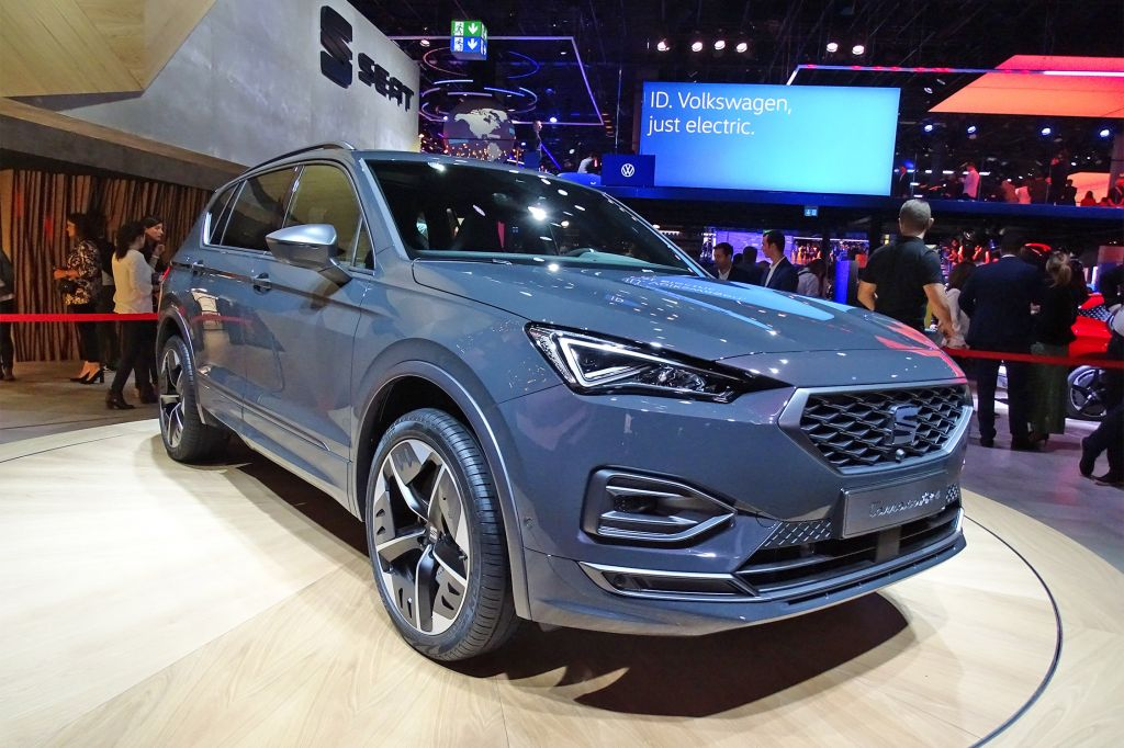 SEAT Tarraco FR E - Salon de Francfort 2019.com