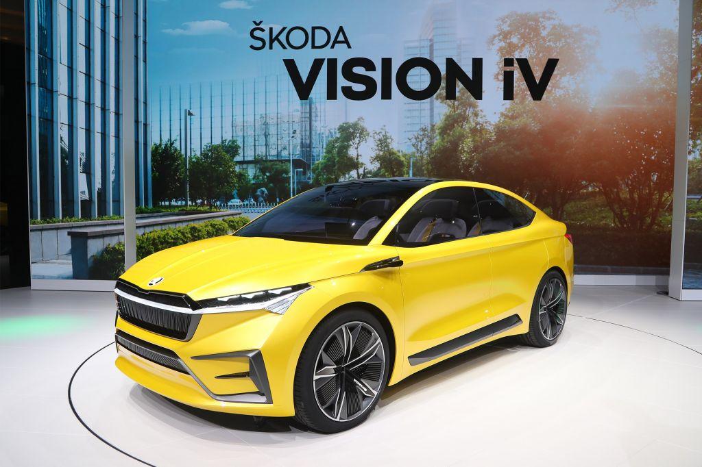 SKODA Vision iV - Salon de Genève - GIMS 2019.com