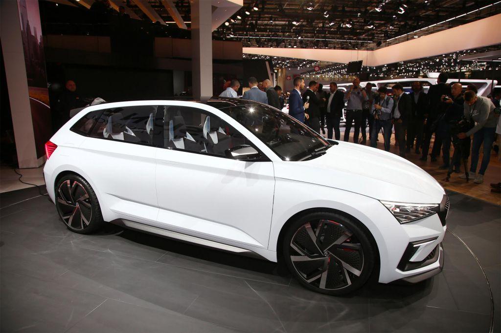 SKODA Vision RS - Mondial de l'Automobile 2018.com