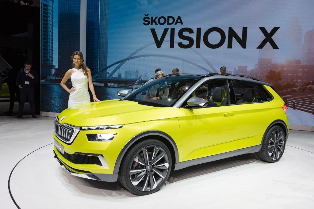 SKODA Vision X - Salon de Genève - GIMS 2018.com