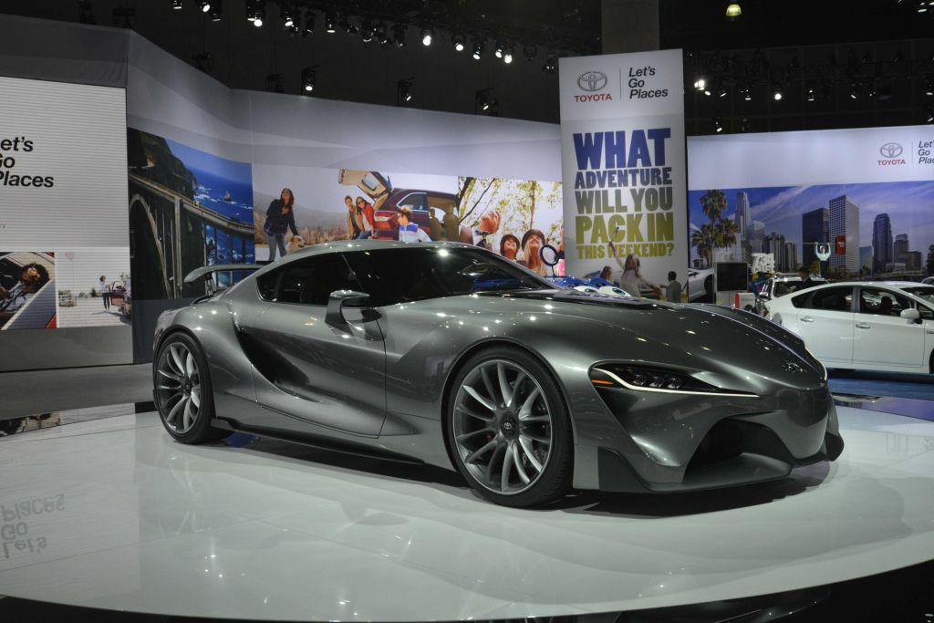 TOYOTA FT-1 Concept - Salon de Detroit 2014.com