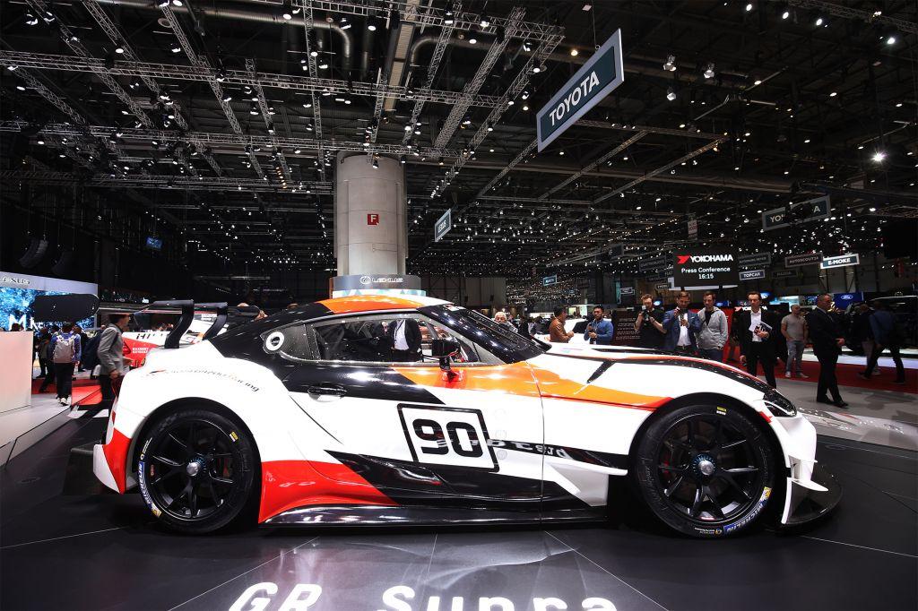 TOYOTA GR Supra Racing Concept - Salon de Genève - GIMS 2018.com
