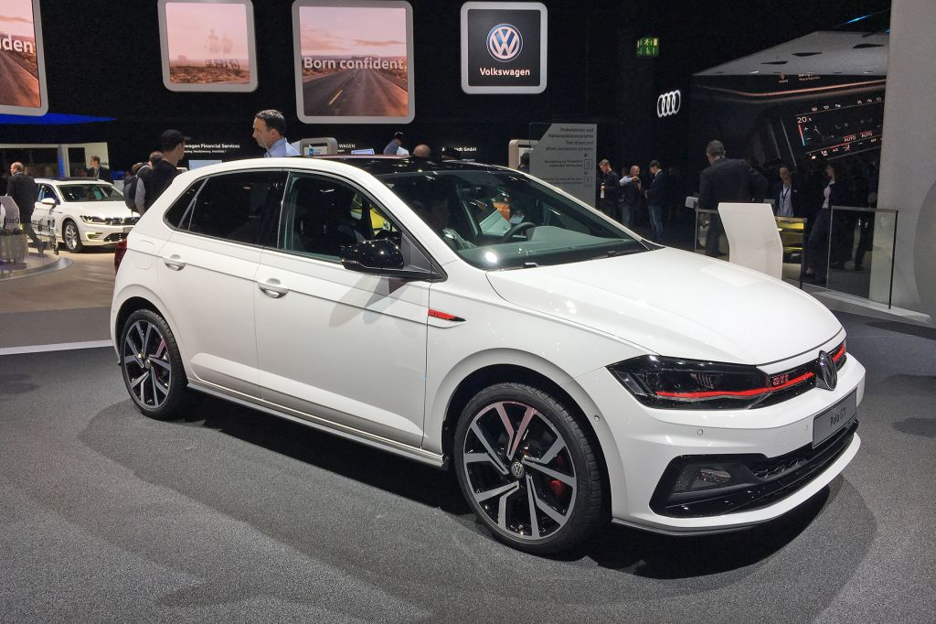 Volkswagen Polo Gti Salon De Francfort 2017