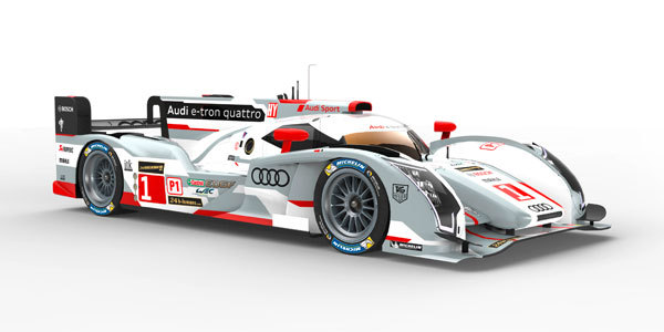 AUDI R18 e-tron quattro - 24 Heures du Mans 2013  .com
