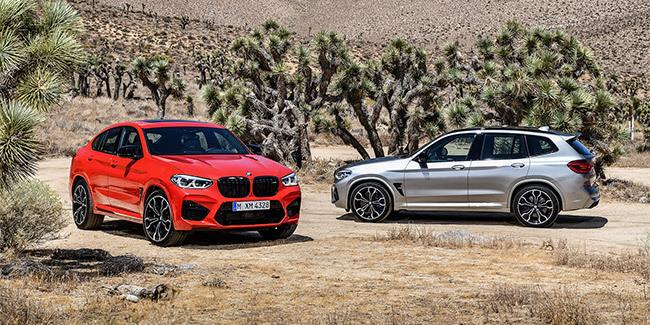 BMW X3 et X4 M - .com