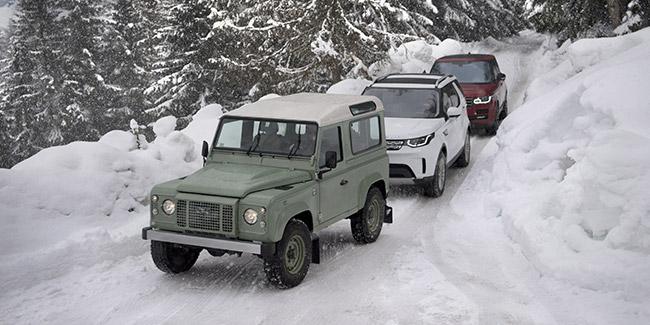 LAND ROVER Land Rover a 70 ans : de la boue aux beaux quartiers - Diaporama de 24 photos.com