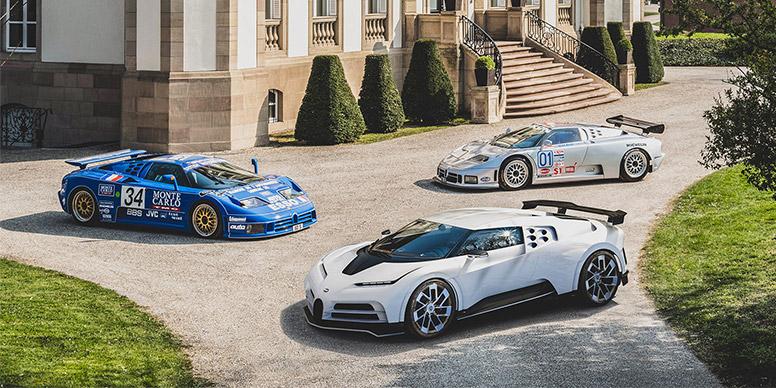 BUGATTI Bugatti : 110 ans de passion - Diaporama de 12 photos.com