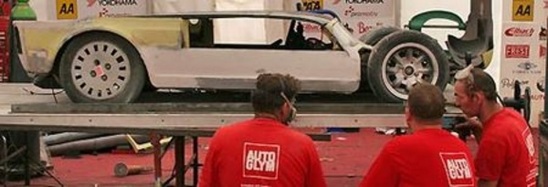 voiture basse record en construction