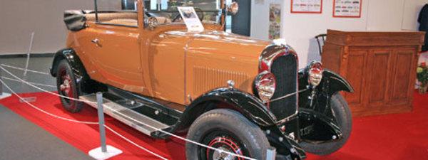 CITROEN Rétrospective Citroën à Rétromobile 2009 - Diaporama de 13 photos.com