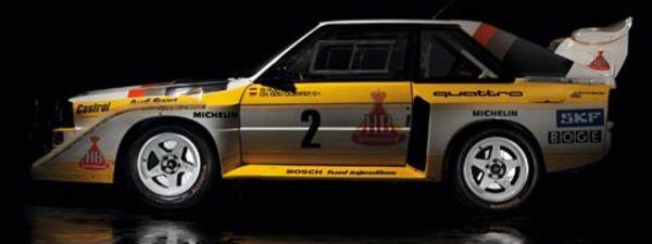 AUDI Audi Quattro : de la compétition à la route - Diaporama de 30 photos.com