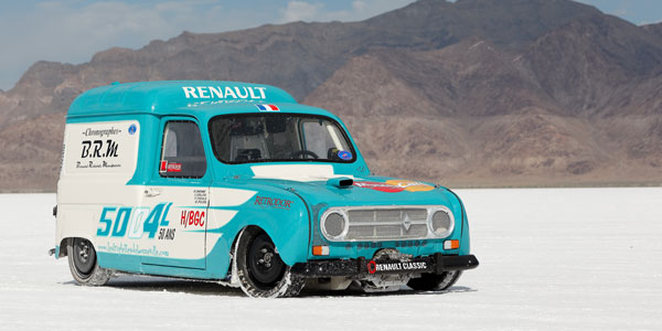 RENAULT La 4L la plus rapide du Monde - Diaporama de 30 photos.com