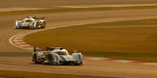 6 Heures de Shanghai: Audi en démonstration sur son marché principal - Championnat Endurance 2012  Reportage.com