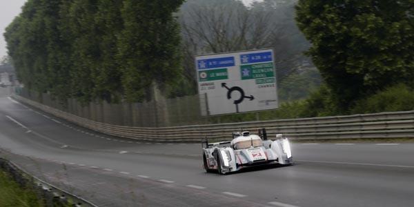 Duval et Audi dominent la journée test - 24 Heures du Mans 2013  Reportage.com