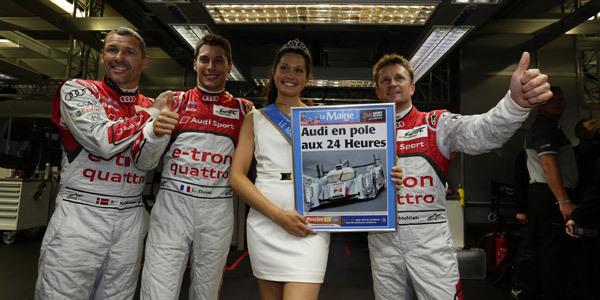 Grille de départ : l'Audi N°2 garde la pole - 24 Heures du Mans 2013  Reportage.com