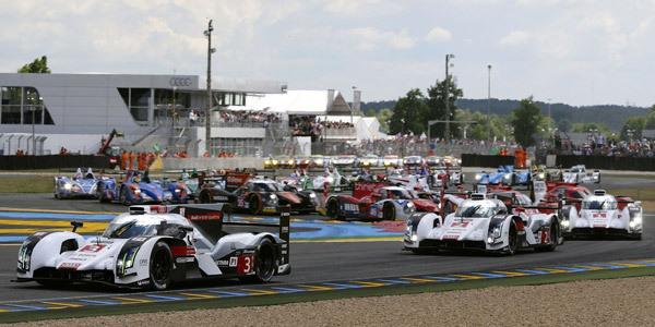 Après 3 heures de course - 24 Heures du Mans 2014  Reportage.com
