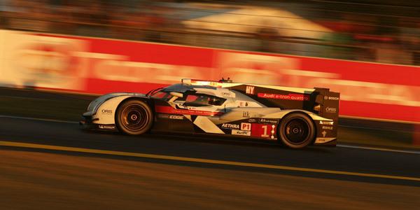 A 5 heures de l'arrivée - 24 Heures du Mans 2014  Reportage.com
