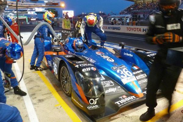 Alpine au Mans - 24 Heures du Mans 2015  Reportage.com