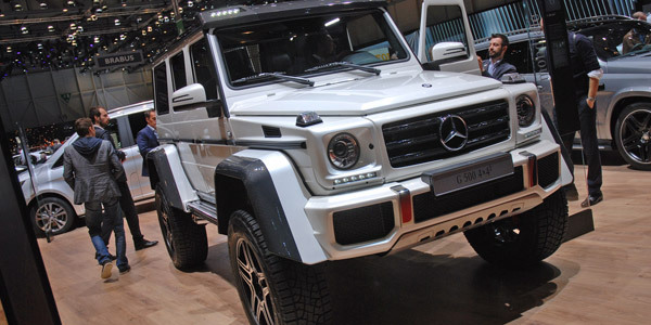 mercedes g500 4x4 concept. Black Bedroom Furniture Sets. Home Design Ideas