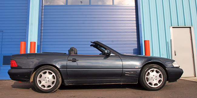 Acheter une MERCEDES SL 500 (1990-2001) - guide d'achat