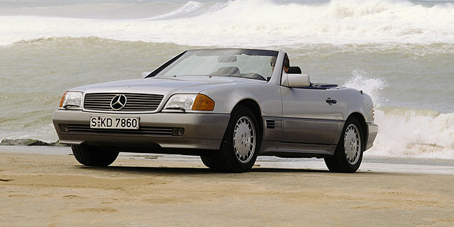 MERCEDES SL R129, beauté intemporelle