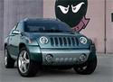 Salon de Detroit 2002 : JEEP Compass