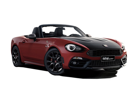Fiche technique ABARTH 124 SPIDER 1.4 MultiAir Turbo