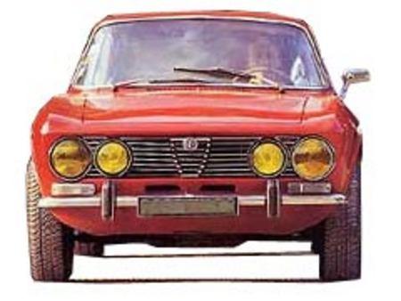 Fiche technique ALFA ROMEO COUPE BERTONE 2000 GTV