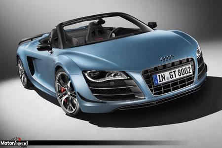 fiche technique audi r8 i gt spyder v10 5 2 fsi quattro r tronic 560ch motorlegend. Black Bedroom Furniture Sets. Home Design Ideas