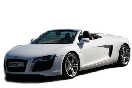 fiche technique audi r8 i spyder v8 4 2 fsi quattro 430ch motorlegend. Black Bedroom Furniture Sets. Home Design Ideas