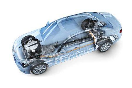 Fiche technique BMW CONCEPT SERIE 7 ACTIVEHYBRID Concept