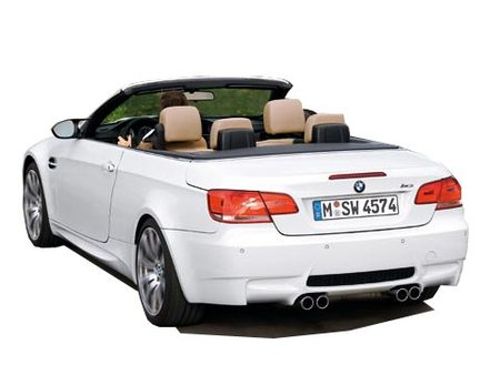 Fiche technique BMW M3 (E93 Cabriolet) 4.0i V8 420 Ch