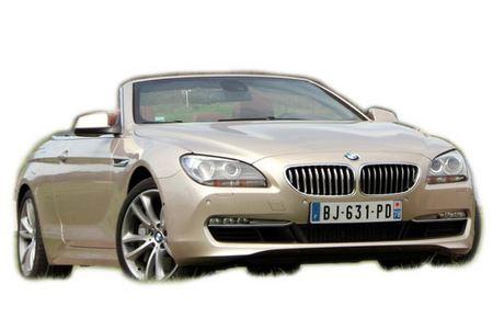 Fiche technique BMW SERIE 6 (F12 Cabriolet) 650i 407 ch