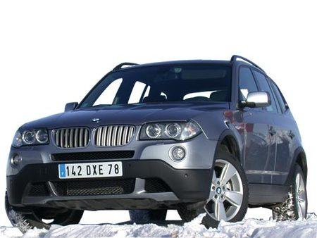 Fiche technique BMW X3 (E83 LCI) 3.0sd 286ch