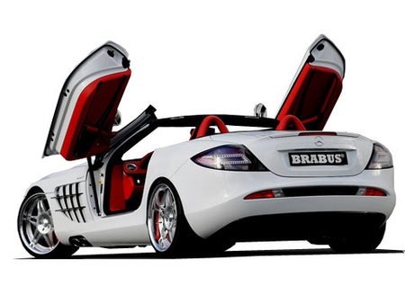 Fiche technique BRABUS SLR MCLAREN Ultimate 112