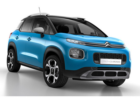 fiche technique citroen c3 aircross bluehdi 120 s s motorlegend. Black Bedroom Furniture Sets. Home Design Ideas