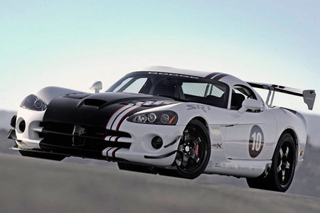Fiche technique DODGE VIPER SRT10 ACR