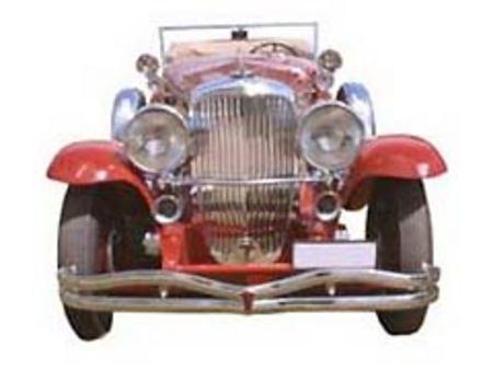 Fiche technique DUESENBERG MODEL J 1928